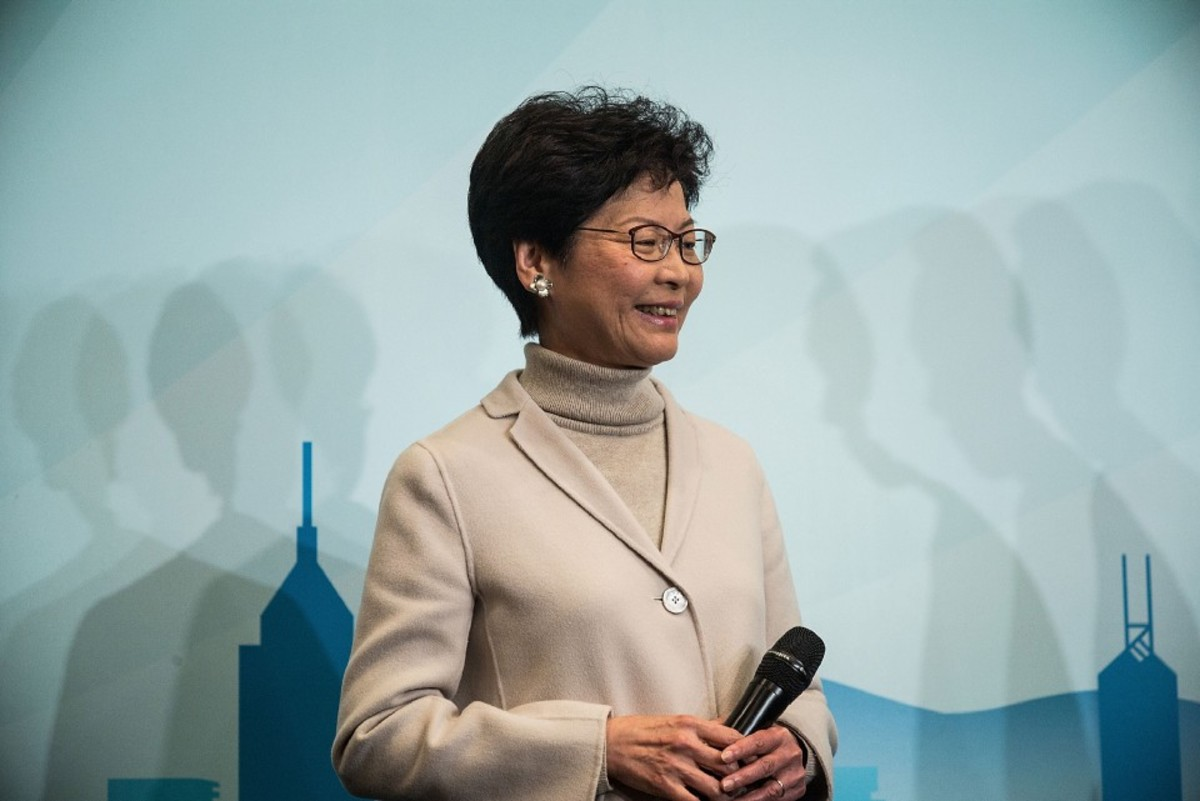 Carrie Lam Cheng Yuet-ngor. (Photo: Lam Yik Fei/Getty Images)