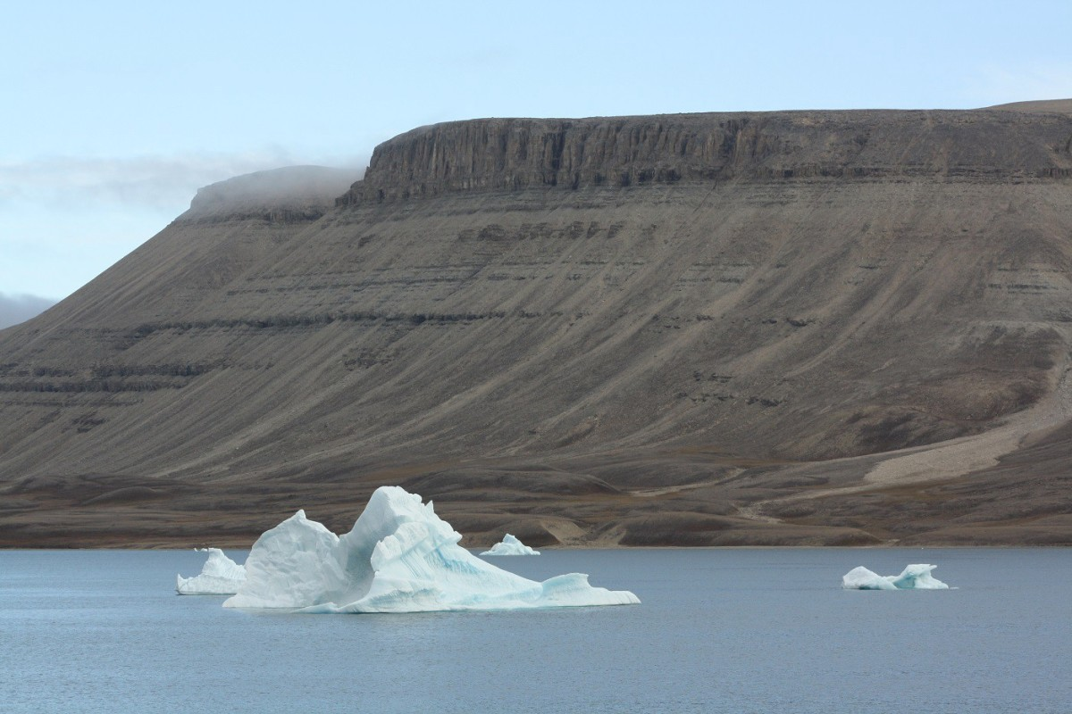 The High Arctic's landscapes are severe, but beautiful.