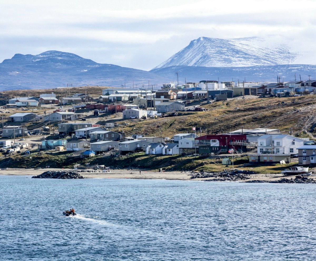 This predominantly Inuit village with about 1,500 residents sits on the mountainous northern shore of Baffin Island. It is reachable only by plane or boat.