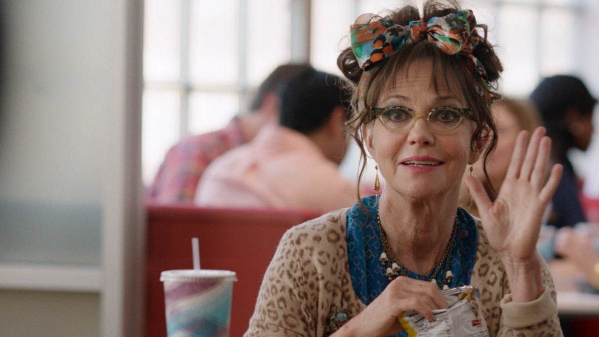 Sally Field's character in Hello My Name is Doris was exceptional in 2015, a year that was largely male- and youth-dominated at the movies.