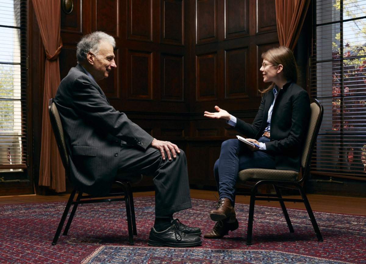 Ralph Nader with Lydia DePillis.