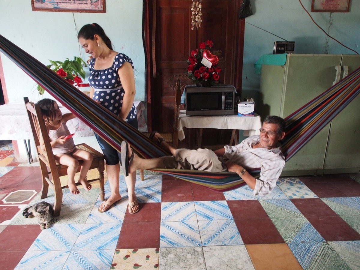 "Of his 13 children, six migrated to the U.S. without documents. Victor Rodrigues hasn't seen them in years, but was able to improve the house with their remittances. ""This house is our American dream,"" he says"