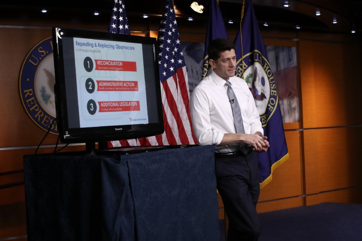 Speaker of the House Paul Ryan explains the Affordable Health Care Act.