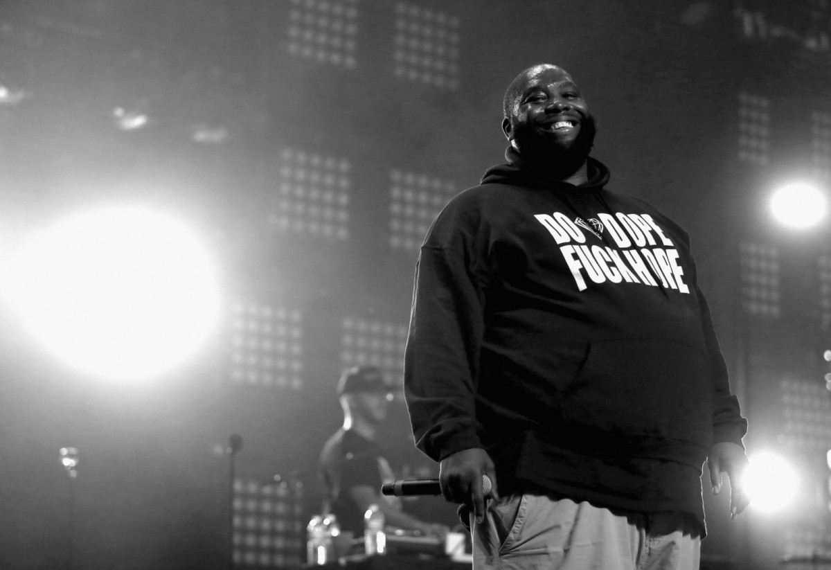 Killer Mike performs at of the 2015 Coachella Valley Music And Arts Festival in Indio, California.