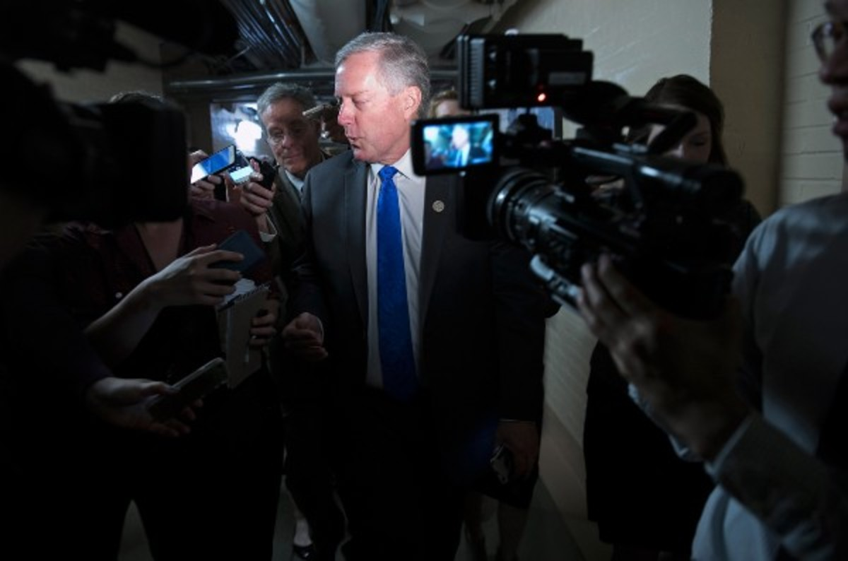 Mark Meadows. (Photo: Win McNamee/Getty Images)