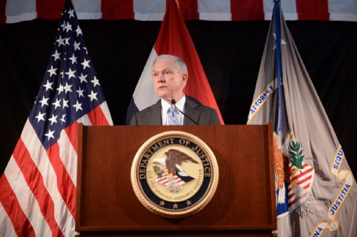 Attorney General Jeff Sessions. (Photo: Michael B. Thomas/Getty Images)