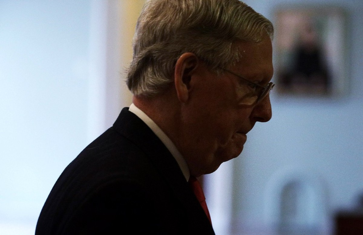 U.S. Senate Majority Leader Mitch McConnell. (Photo: Alex Wong/Getty Images)