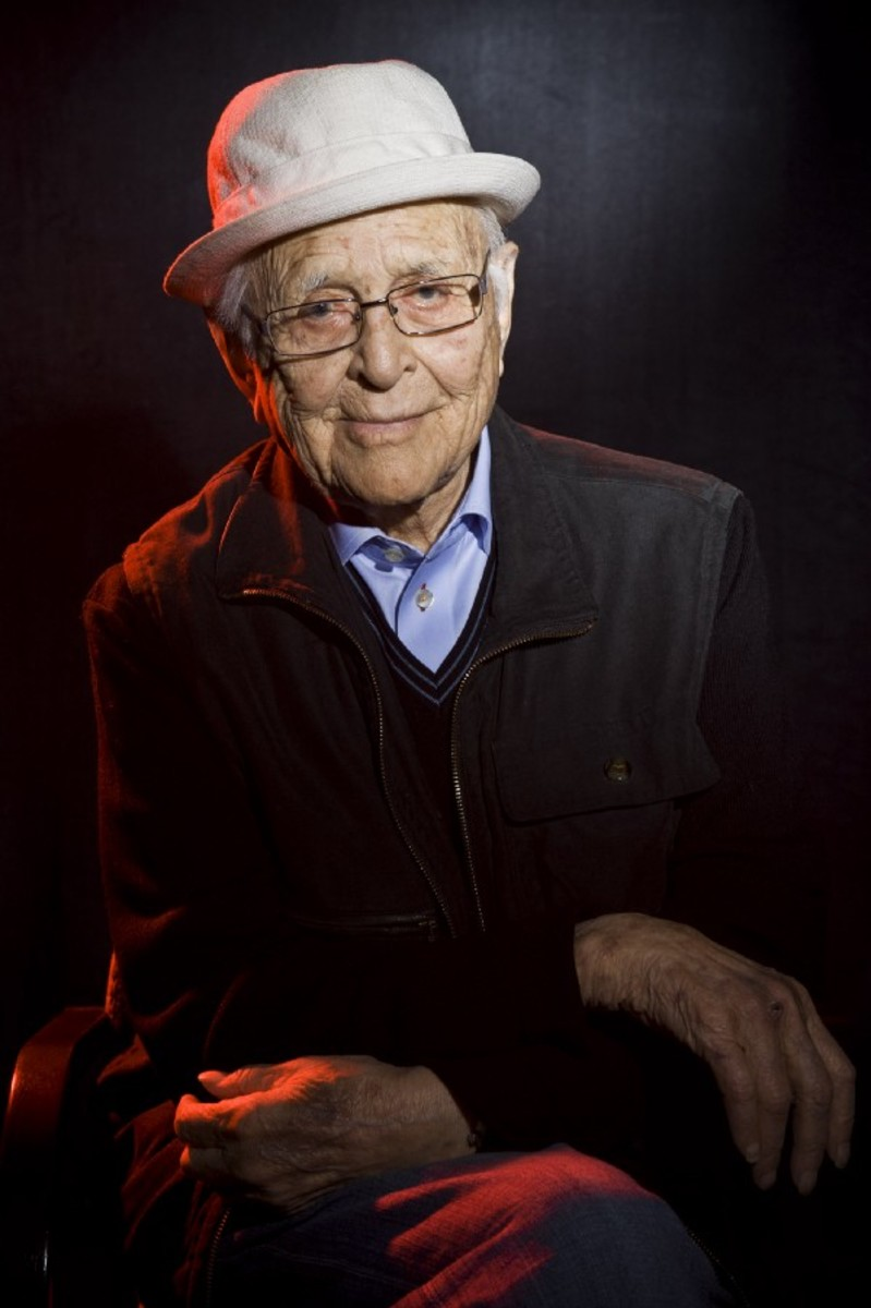 Norman Lear poses for a portrait on day three of Ebertfest on April 22nd, 2017, in Champaign, Illinois. (Photo: Timothy Hiatt/Getty Images for Ebertfest)