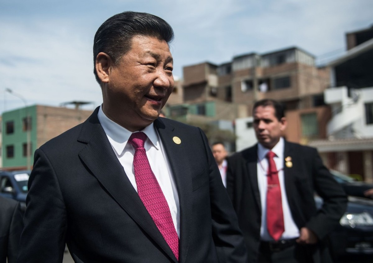 China's President Xi Jinping. (Photo: Ernesto Benavides/AFP/Getty Images)