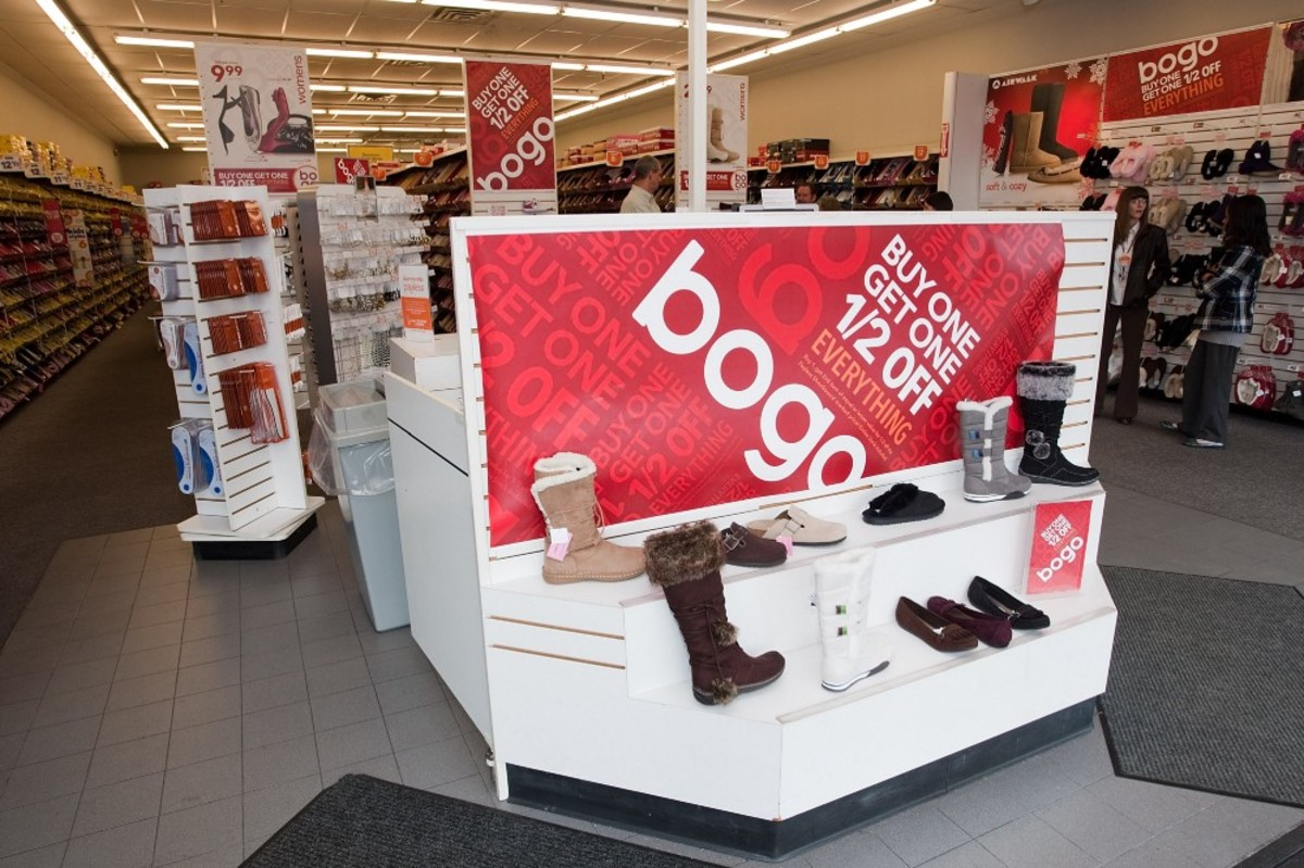 A Payless ShoeSource in Cincinnati, Ohio.
