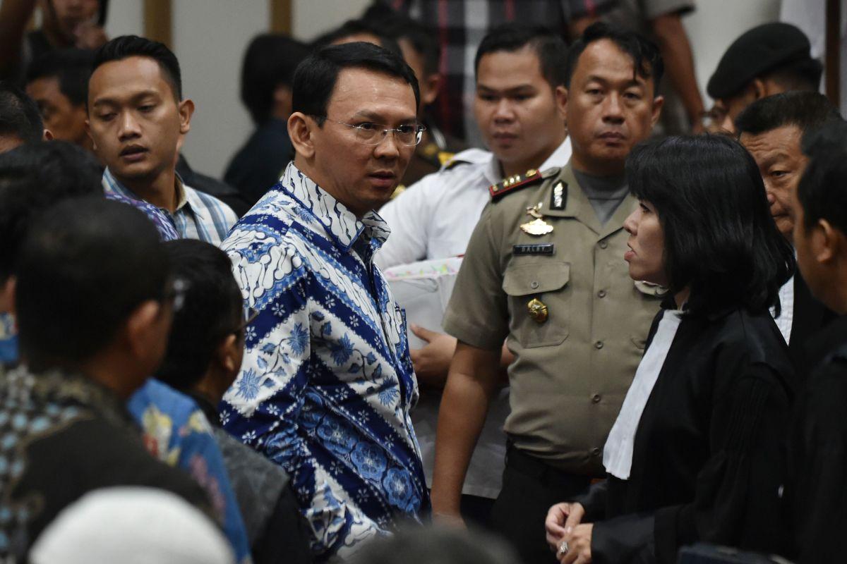 Former Jakarta Governor Basuki Tjahaja Purnama, popularly known as Ahok.