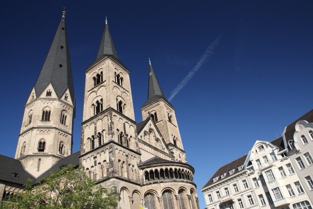Munster Basilica in Bonn, Germany.