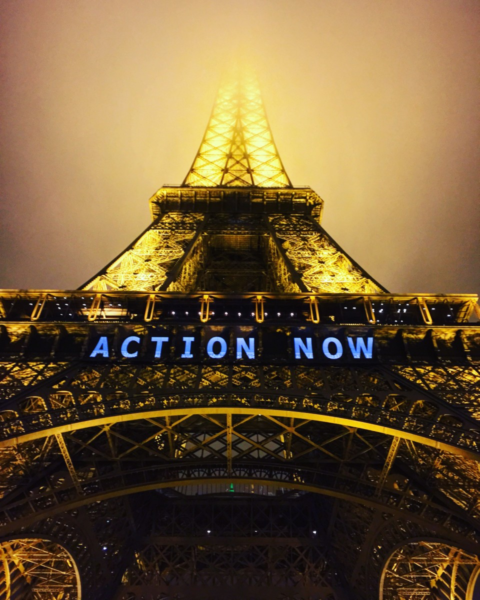Paris during the 2015 United Nations climate talks.