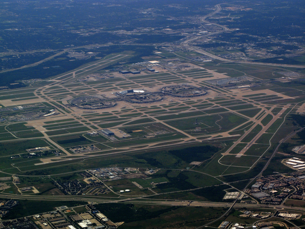 Dallas/Fort Worth International Airport.