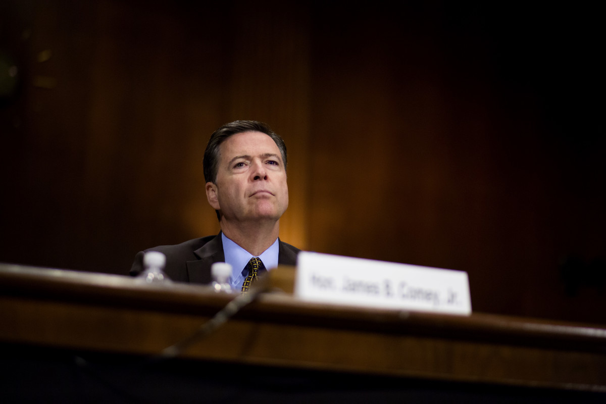 Federal Bureau of Investigation Director James Comey.