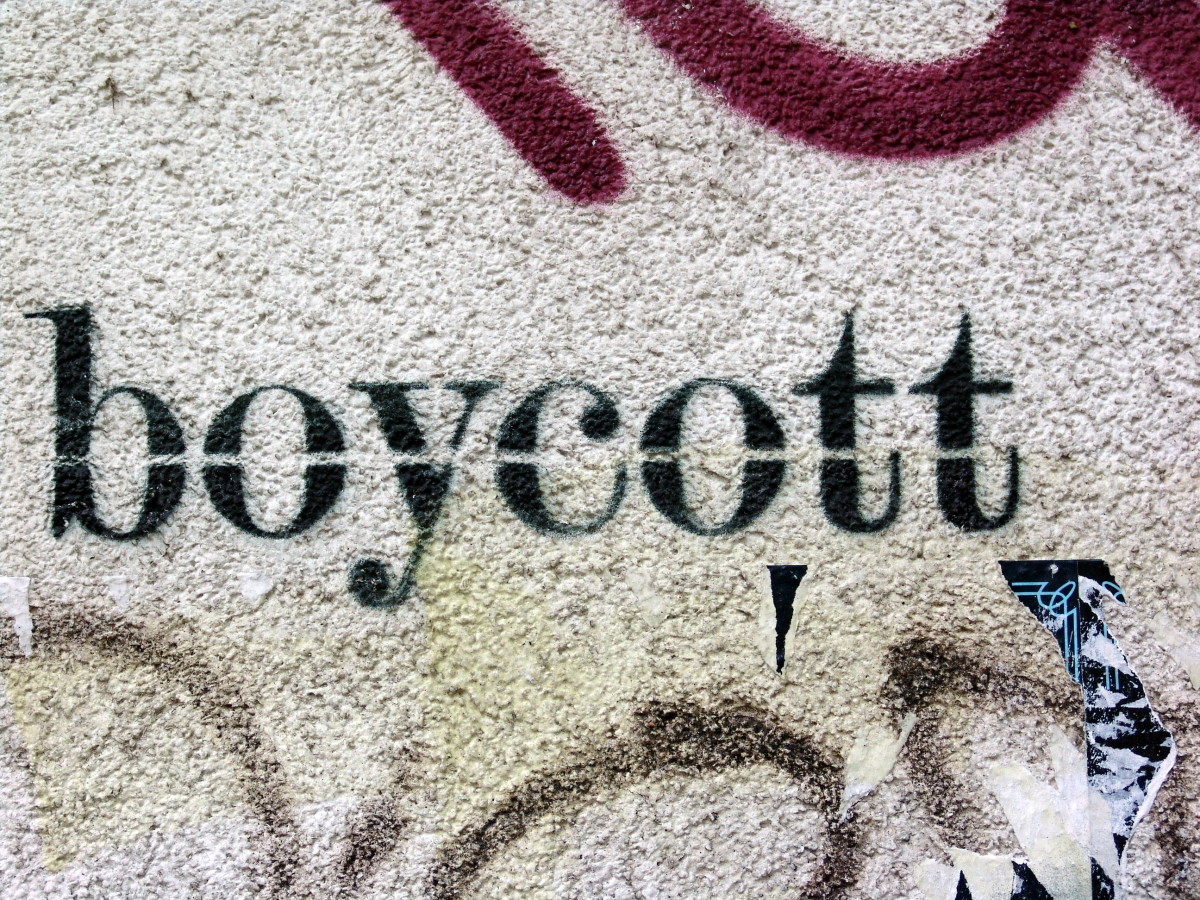 boycott for progressive causes