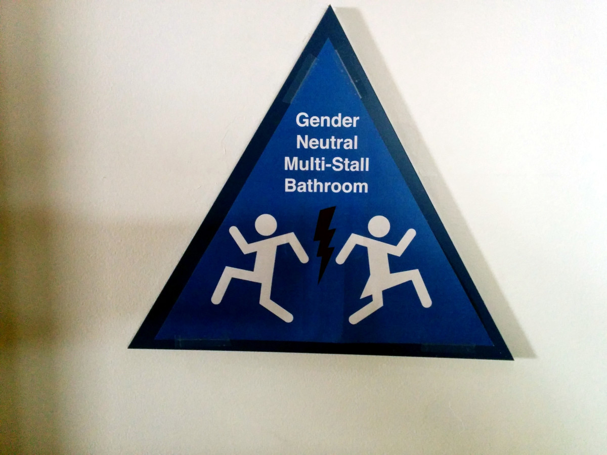 Gender-neutral bathroom