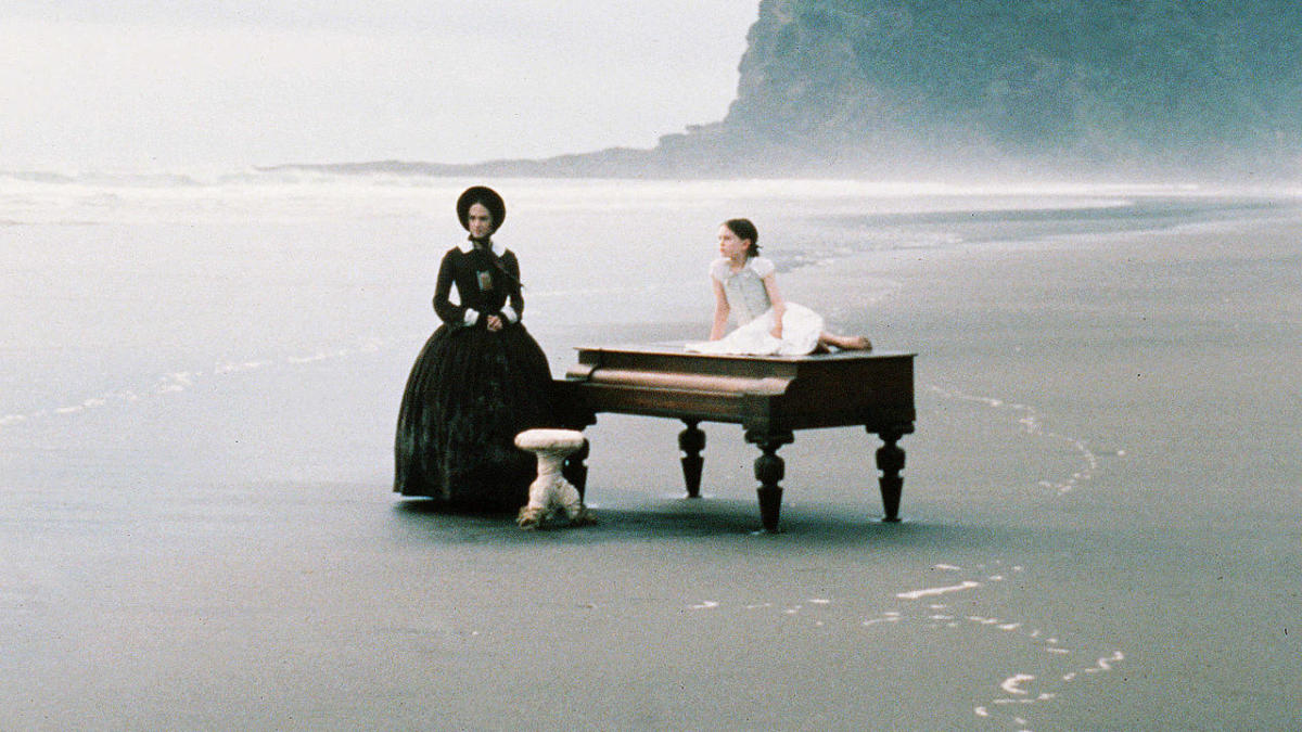 A scene from The Piano.