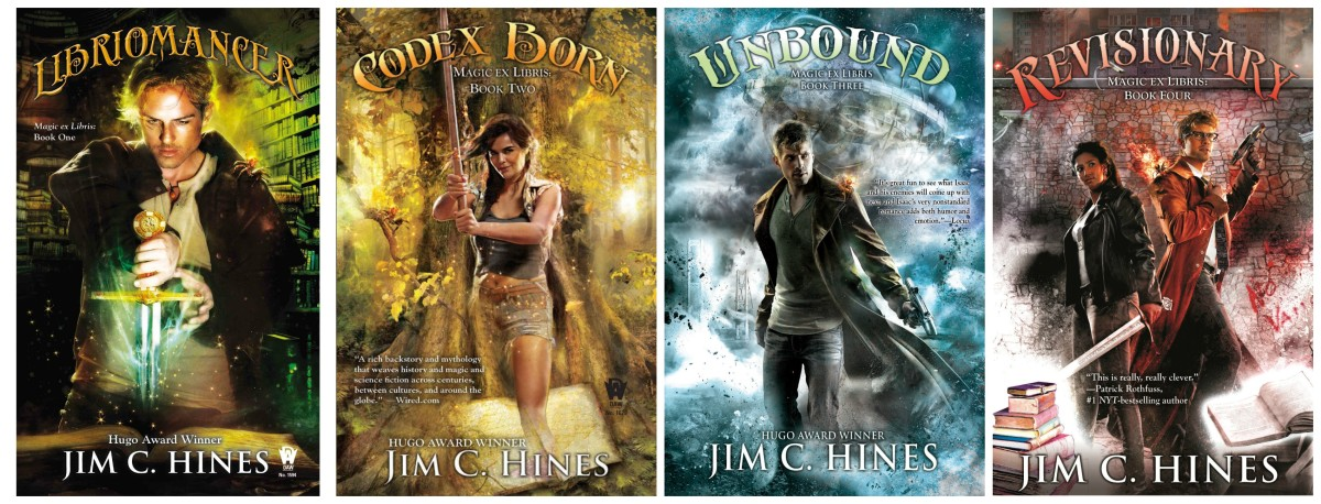 Hines' 'Magic Ex Libris' series.