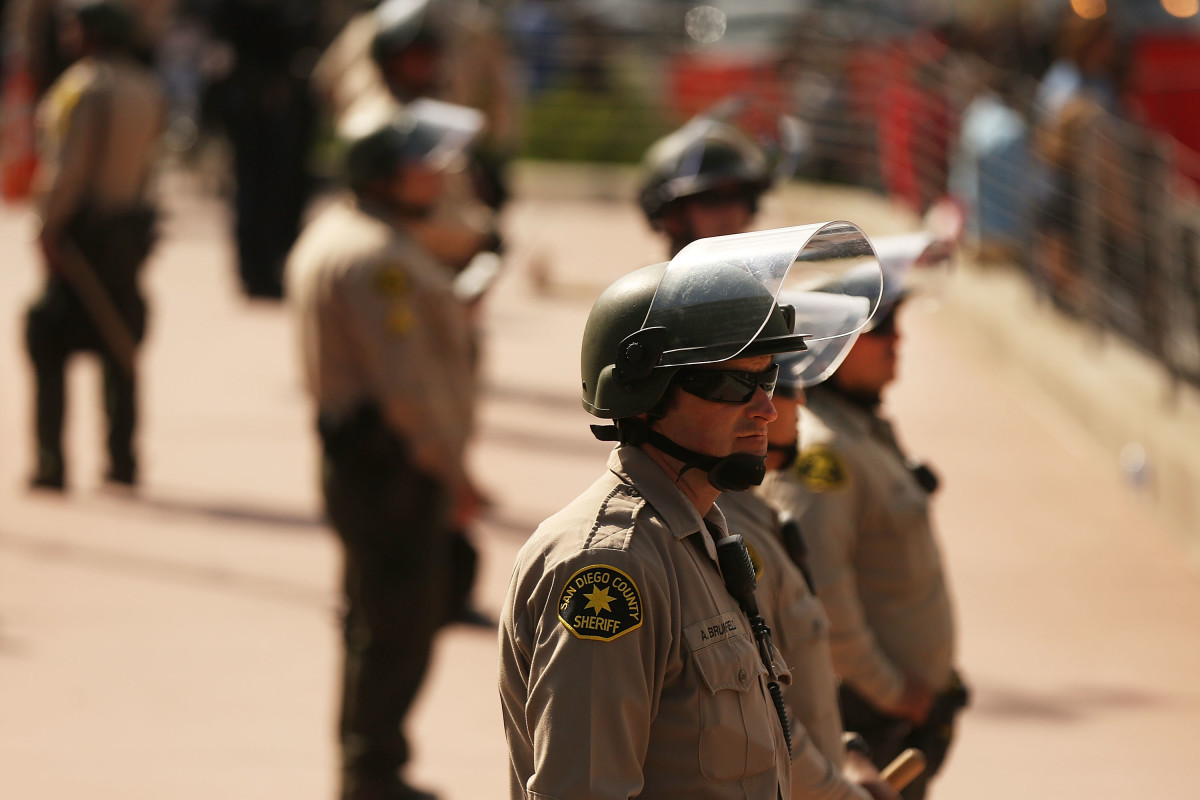 San Diego State University Researchers Watered Down a Police