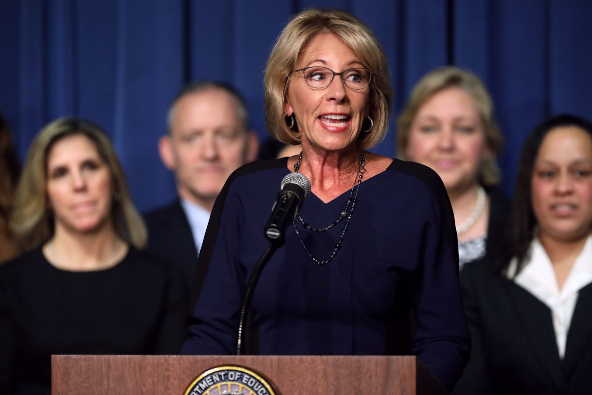 Civil Rights Complaints To Us >> Betsy Devos Faces Pushback After Scaling Back Investigations Into