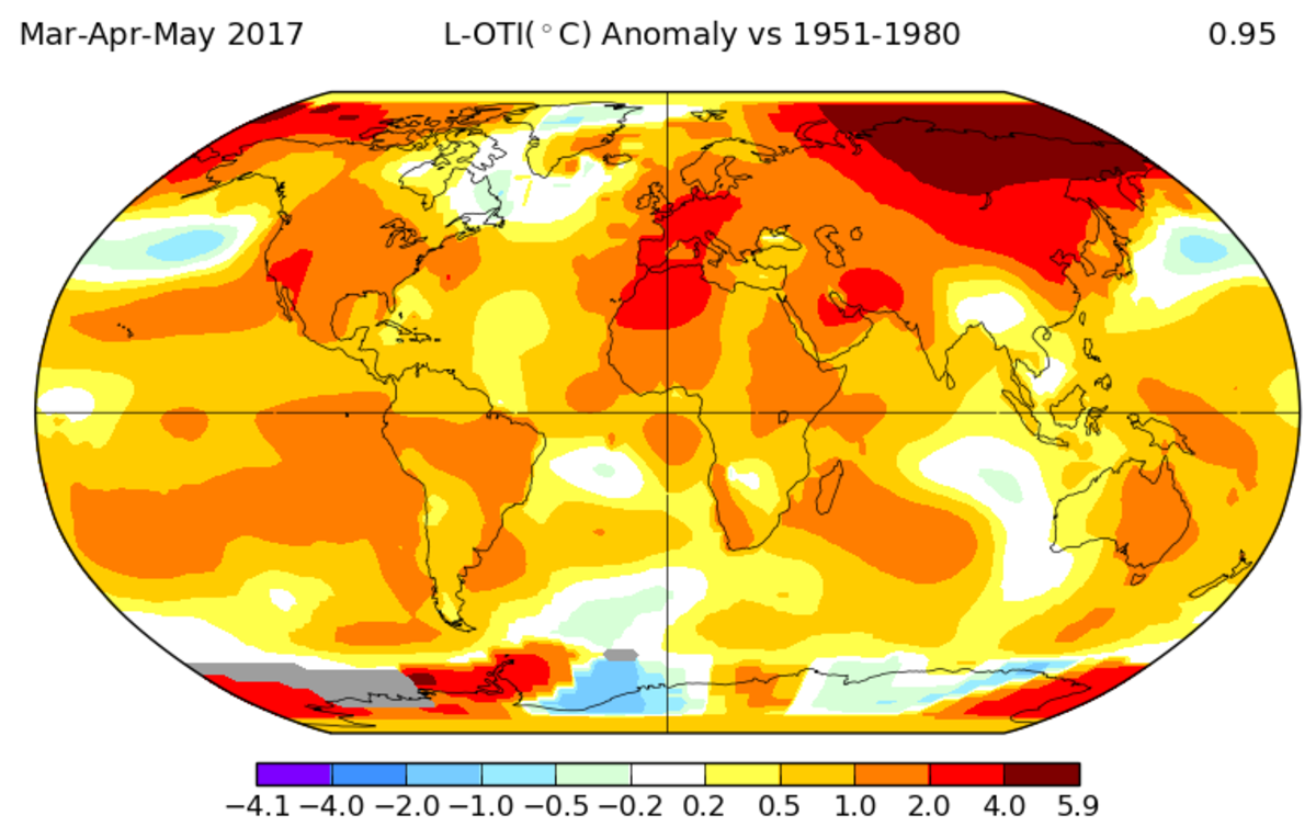 2017 heat waves nasa
