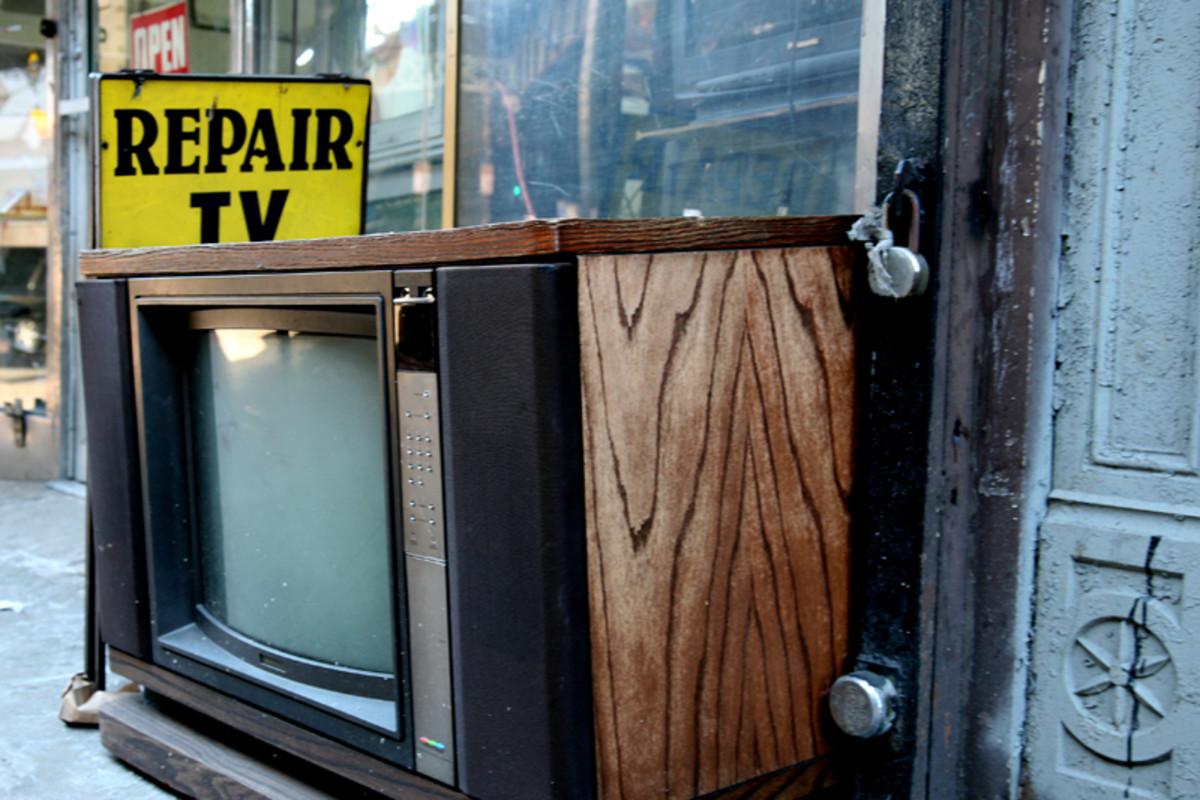 TV Repair.