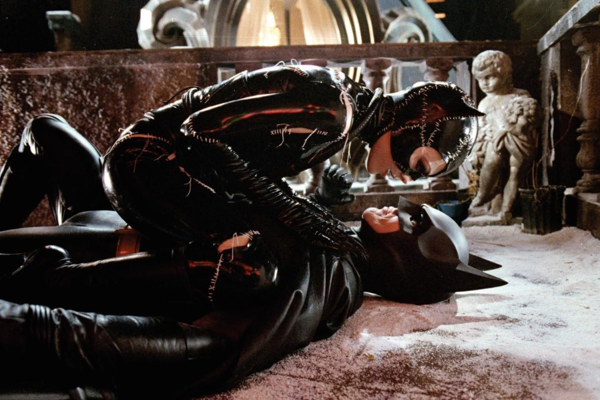 Hanley argues that 1992's Batman Returns was a starring vehicle for Catwoman.