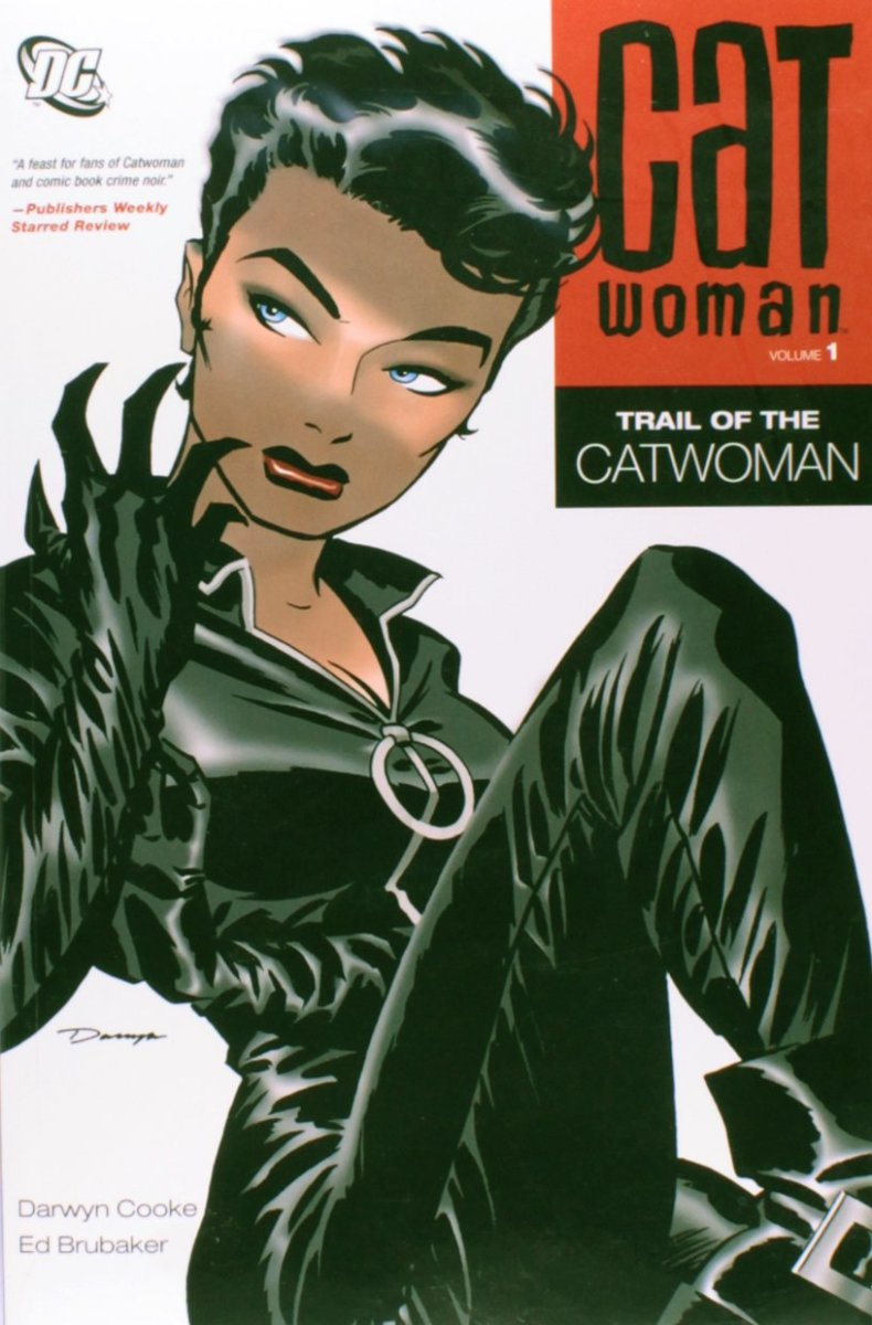 Ed Brubaker's redesign of Catwoman.