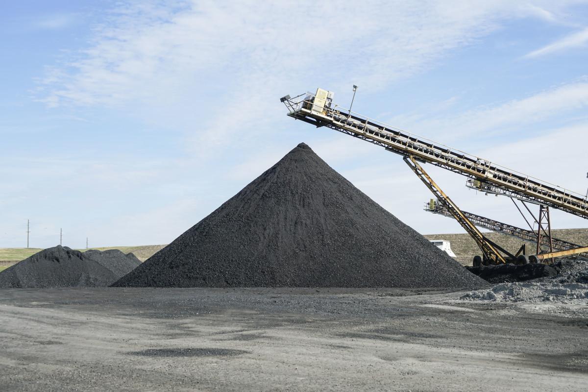 Eagle River Coal Mines, outside of Harrisburg, Illinois.