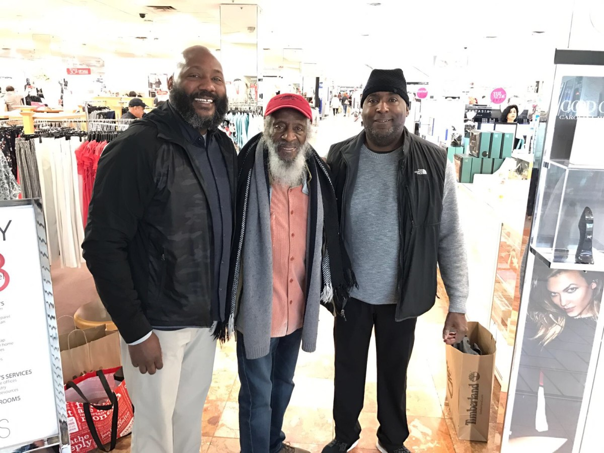 Christian Gregory, Dick Gregory, and Gregory.