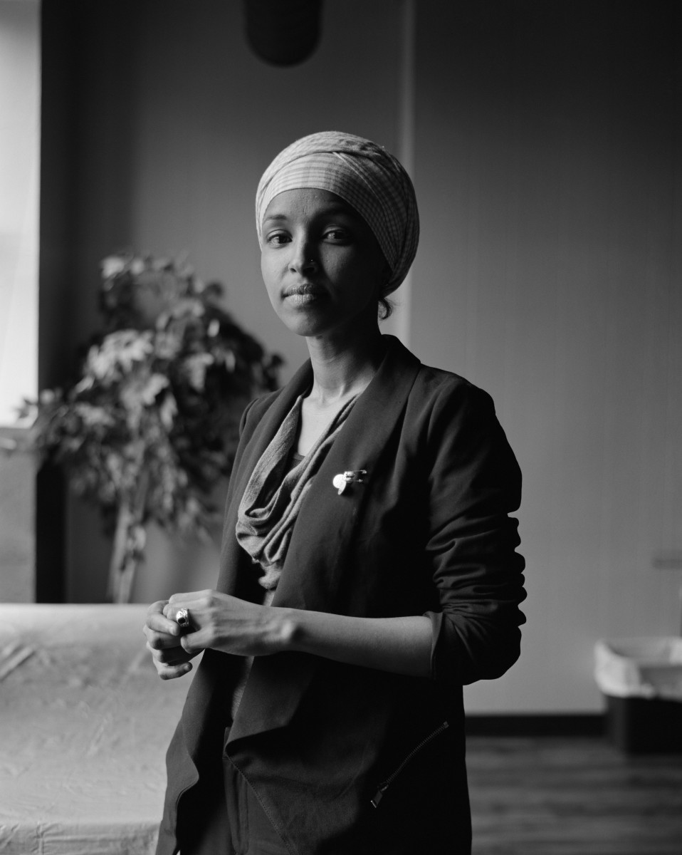 Ilhan Omar, Minnesota House Representative for District 60B.