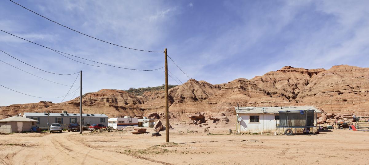 Navajo Native American reservation, near Tuba City, Arizona.