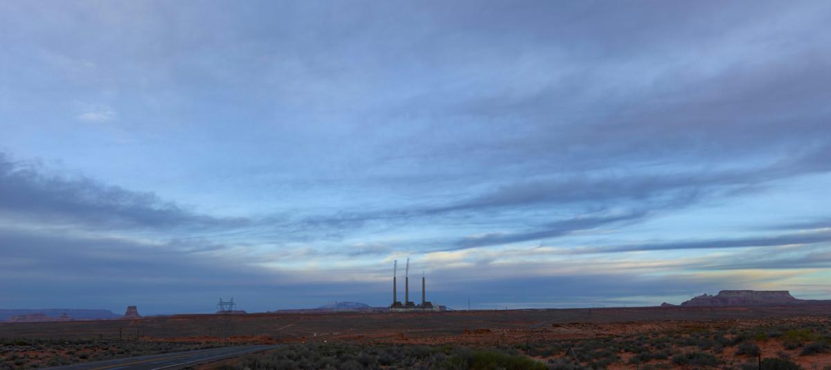 Navajo Generating Station, Arizona.