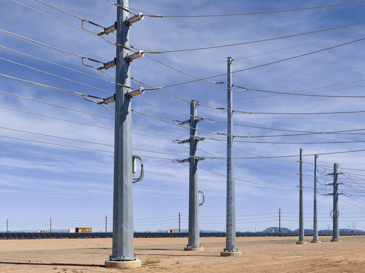 Agua Caliente Solar Farm in Gila Bend, Arizona.