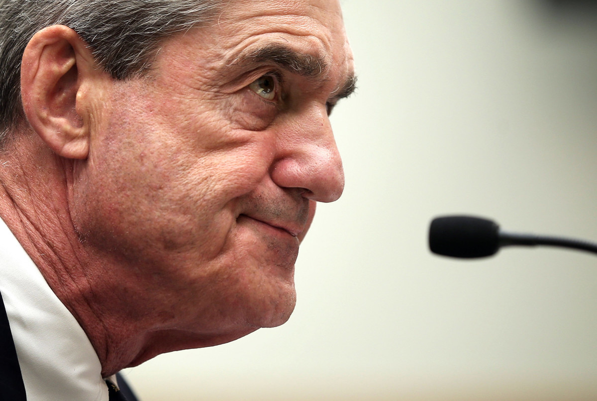 Federal Bureau of Investigation Director Robert Mueller testifies during a hearing before the House Judiciary Committee on June 13th, 2013, on Capitol Hill in Washington, D.C.