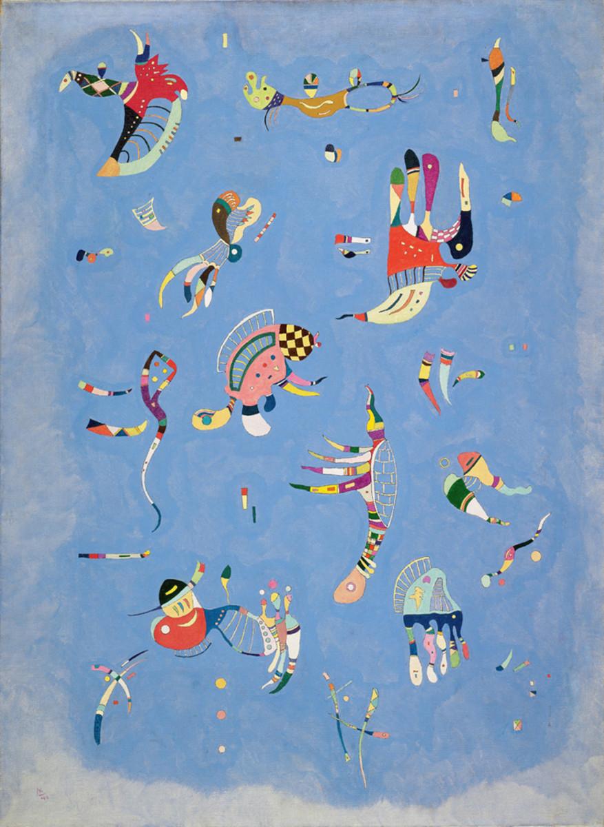 Wassily Kandisky's Sky Blue.