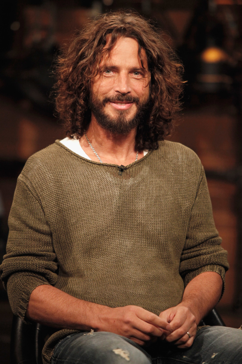 Singer Chris Cornell on September 22nd, 2011, in New York City.