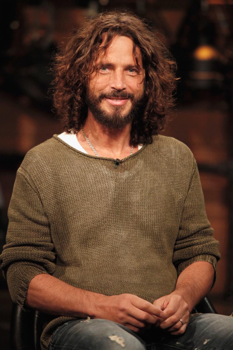 Singer Chris Cornell on September 22nd, 2011, in New York City.