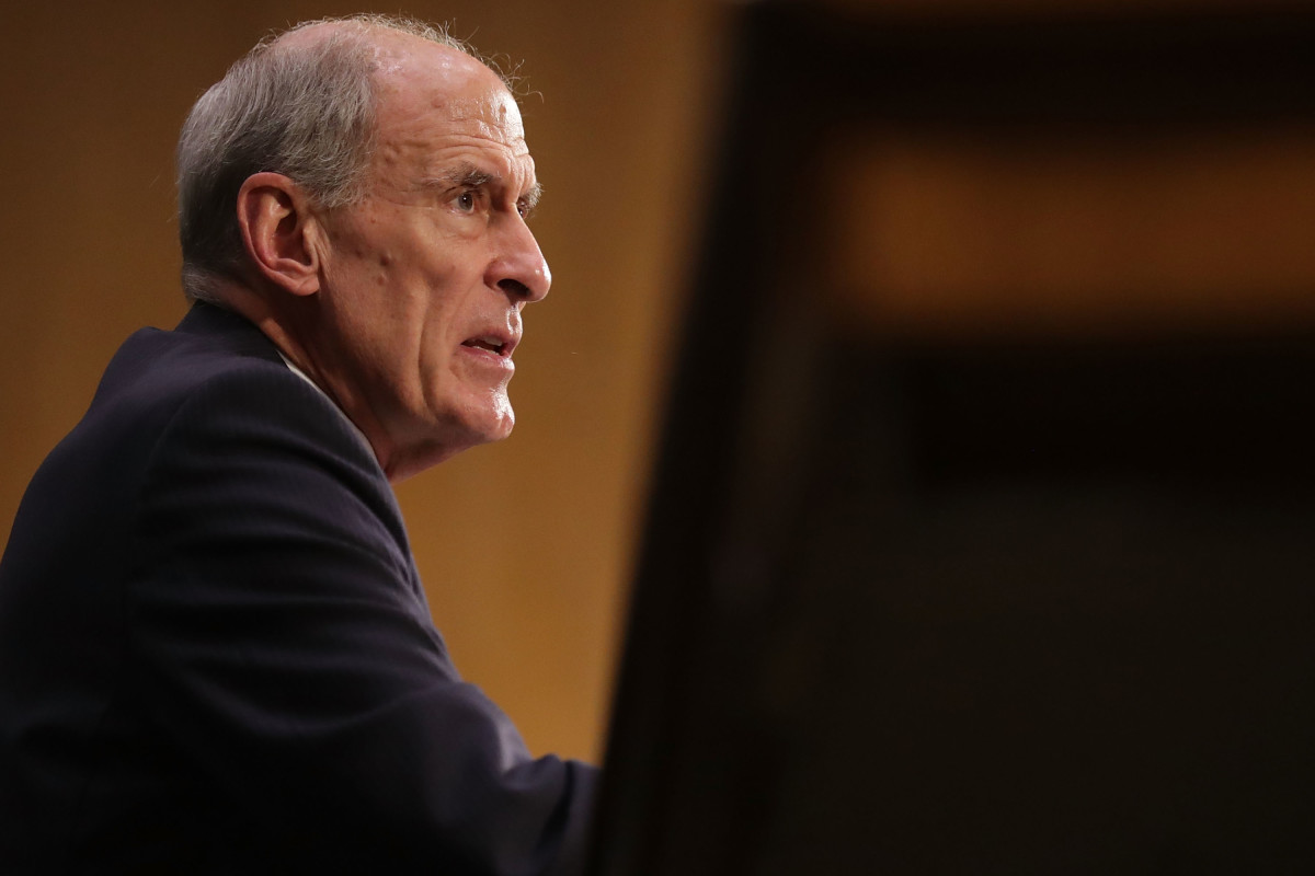 Intelligence Director Dan Coats.