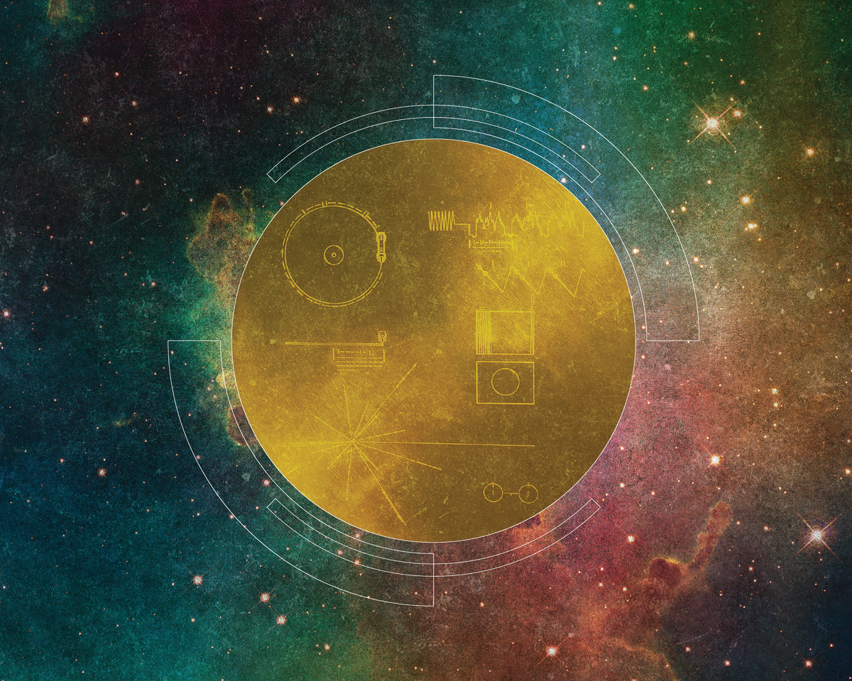How to make friends in outer space pacific standard golden record feature voltagebd Image collections