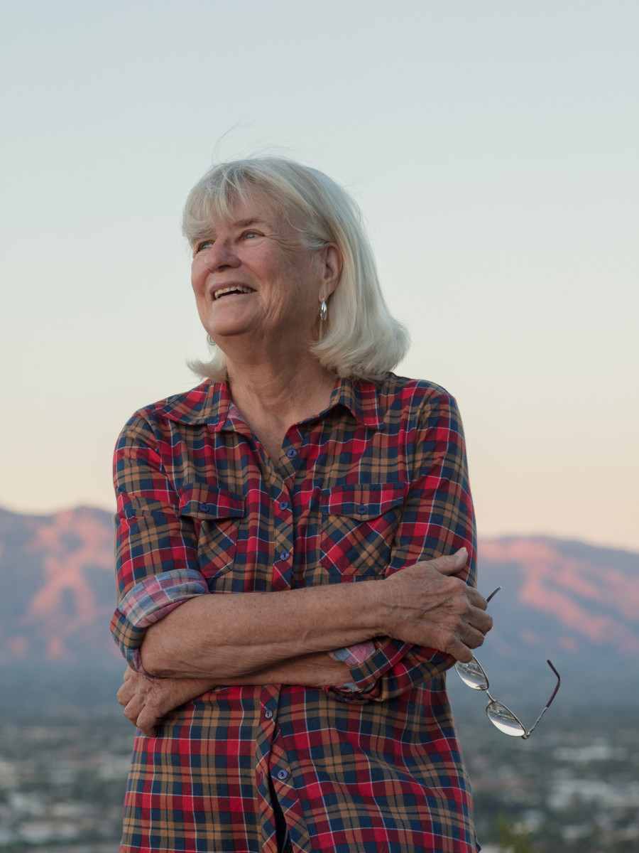 Arizona historian and former rancher Diana Hadley.