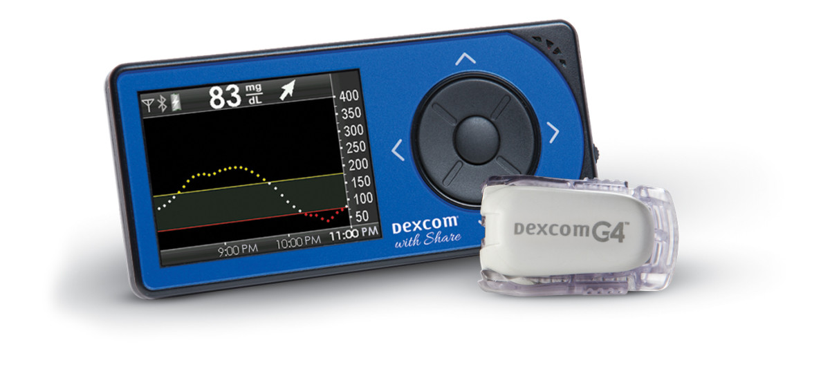 The Dexcom G4 Platinum Pediatric Receiver.