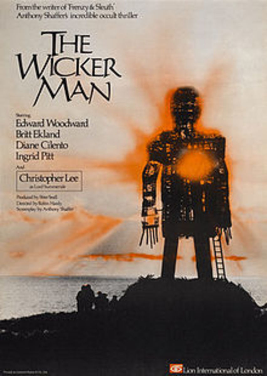 A poster for The Wicker Man.