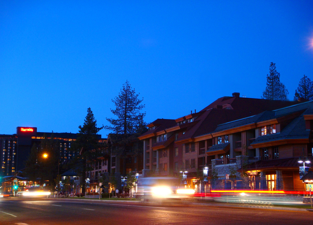 South Lake Tahoe, California.