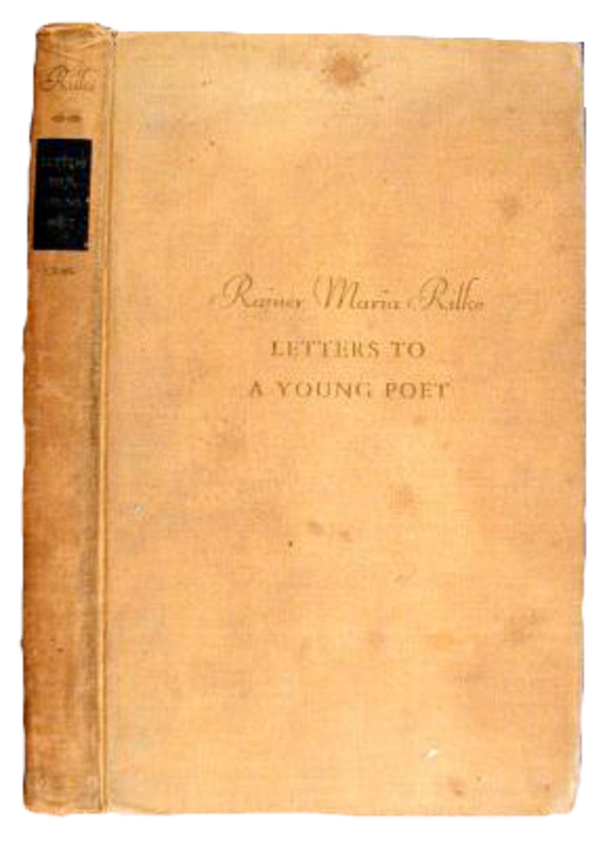 The cover of the 1934 edition of Letters to a Young Poet.