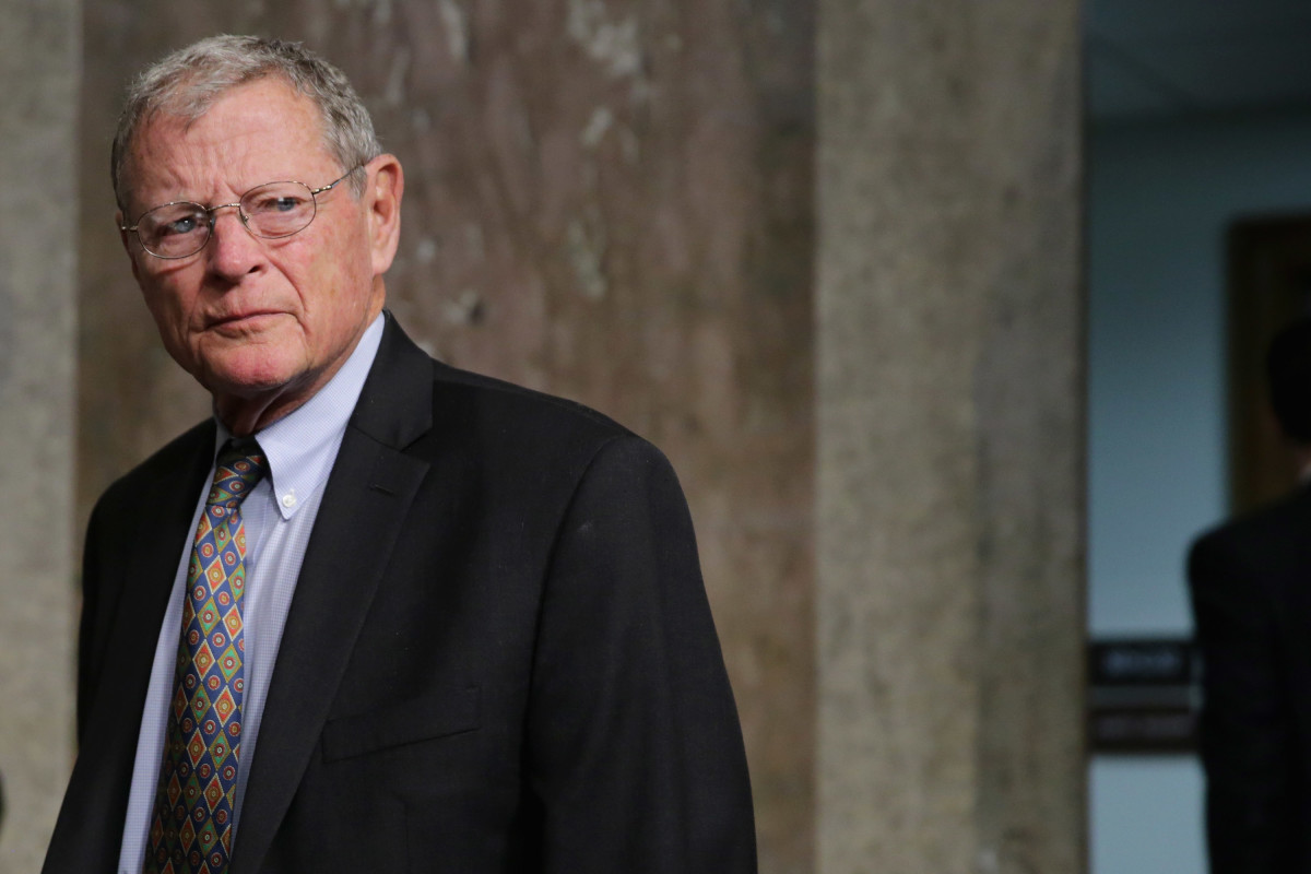 Jim Inhofe, pictured here in 2016.