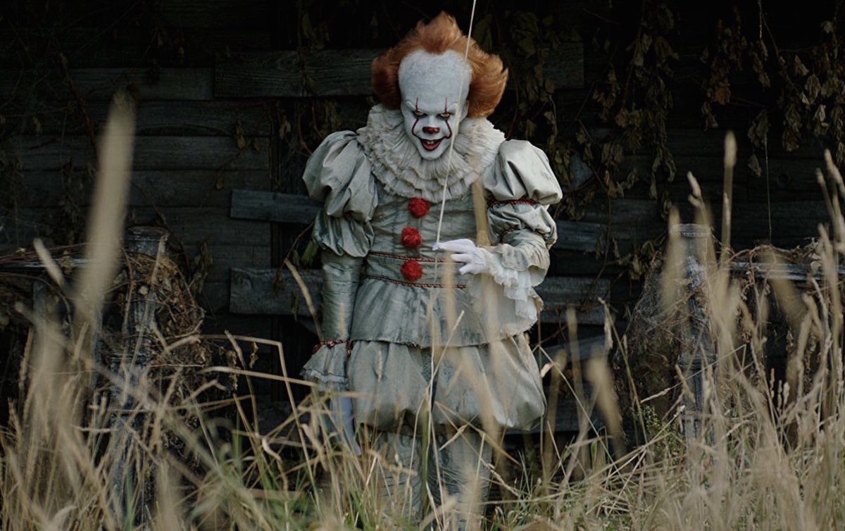 Pennywise the clown in the 2017 film It.