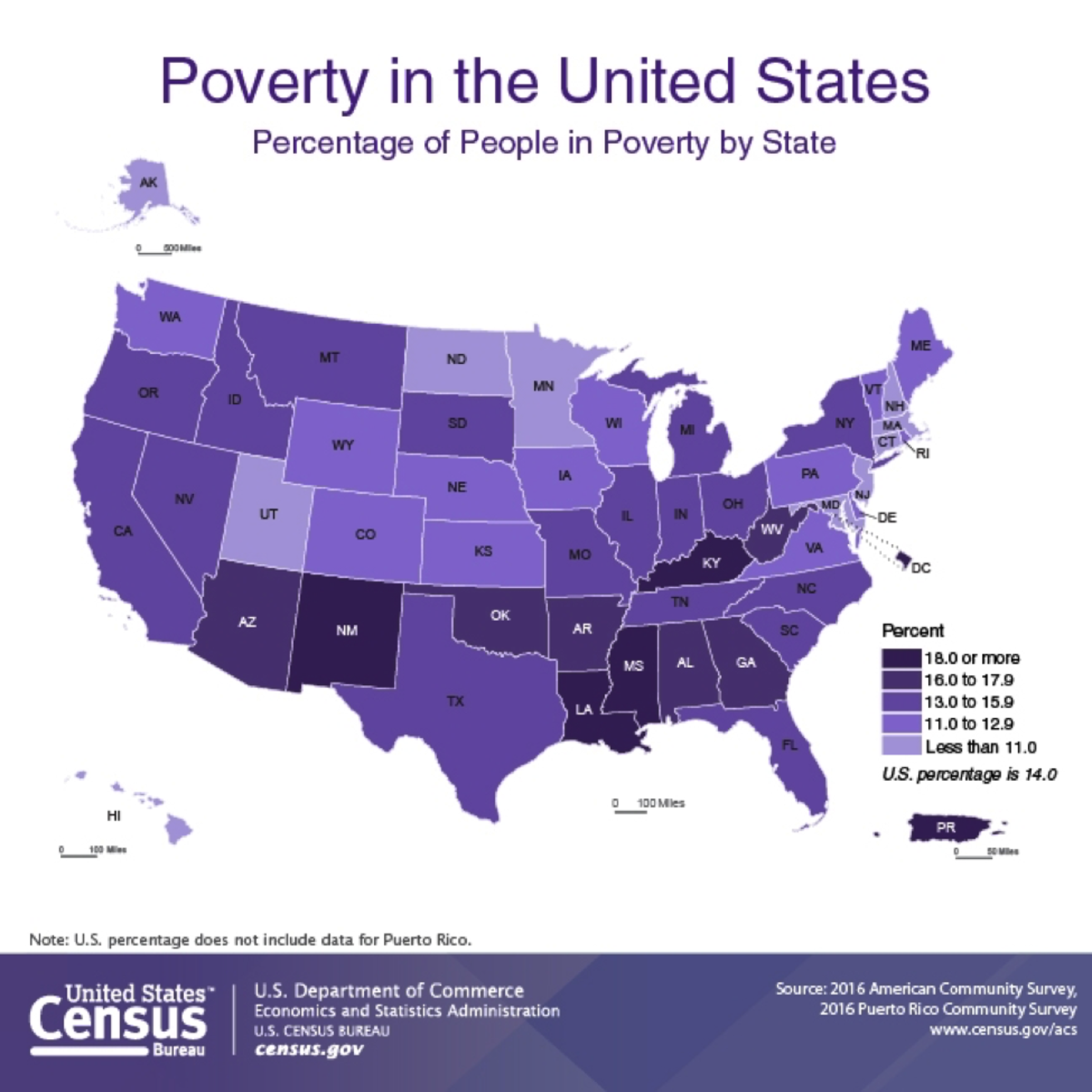 Map Of Poverty In The Us These Three Maps Show Where Poverty Is Worst in America   Pacific