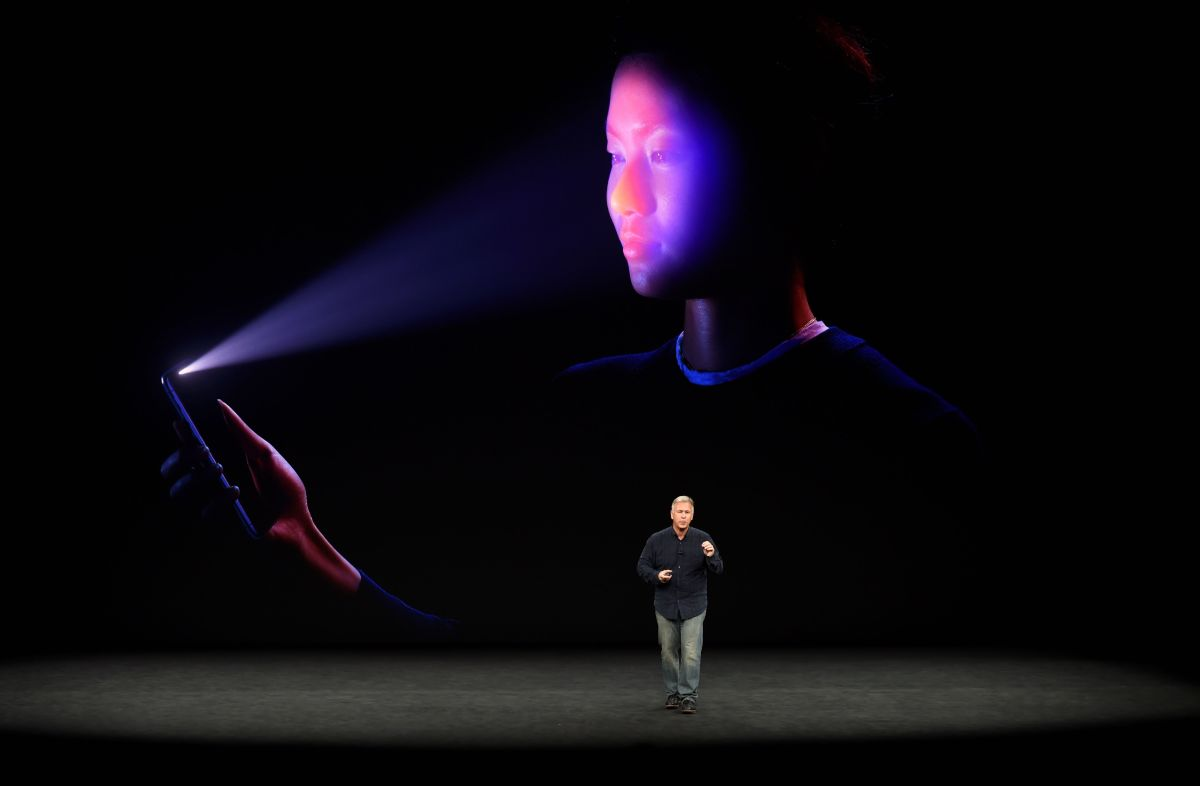 Philip Schiller, senior vice president of worldwide marketing at Apple, introduces the iPhone X during a media event at Apple's new headquarters in Cupertino, California, on September 12th, 2017.